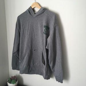 Vintage Gray Nike hoodie